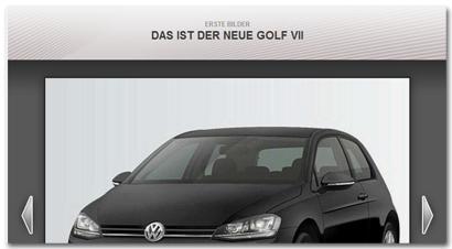 Fotogalerie: Das ist der neue Golf VII