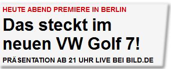 Das steckt im neuen VW Golf 7!