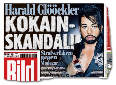 Harald Glööckler - KOKAIN-SKANDAL! Strafverfahren gegen Modezar