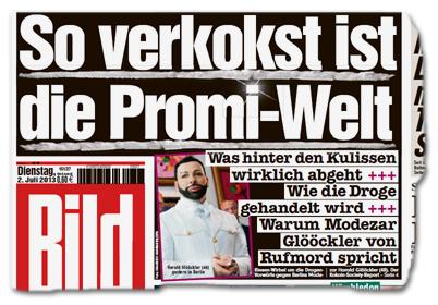 So verkokst ist die Promi-Welt - Was hinter den Kulissen wirklich abgeht +++ Wie die Droge gehandelt wird +++ Warum Modezar Glööckler von Rufmord spricht