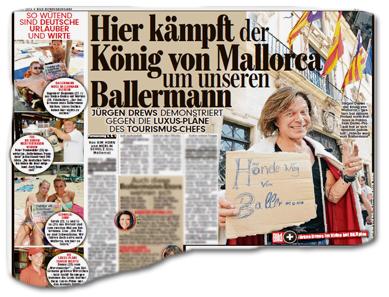 hier kämpft der König von Mallorca um unseren Ballermann