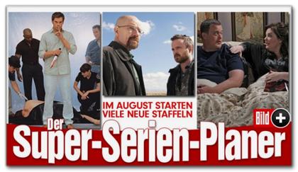 Im August starten viele neue Staffeln - Der Super-Serien-Planer