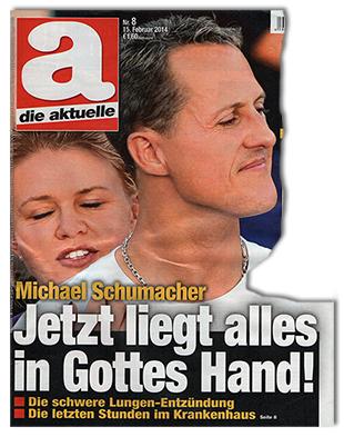 Michael Schumacher - Jetzt liegt alles in Gottes Hand! - Die schwere Lungen-Entzündung - Die letzten Stunden im Krankenhaus