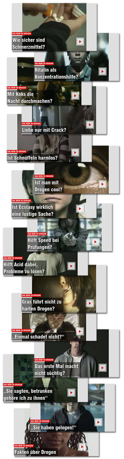Screenshots: Bild.de