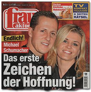 Endlich! Michael Schumacher - Das erste Zeichen der Hoffnung!