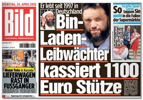 Bin-Laden-Leibwächter kassiert 1100 Euro Stütze