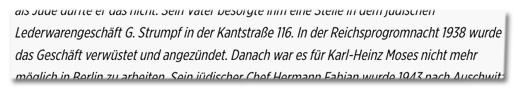Screenshot Bild.de -In der Reichsprogromnacht 1938 wurde das Geschäft verwüstet und angezündet.