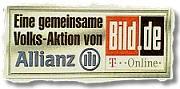 Eine gemeinsame Volks-Aktion von Allianz und Bild.T-Online