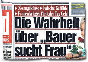 """""""Die Wahrheit über Bauer sucht Frau"""""""
