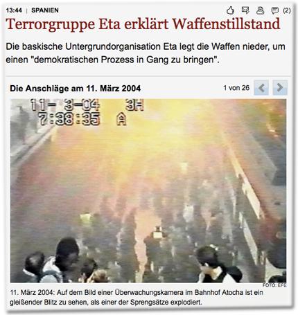 Die Anschläge am 11. März 2004