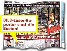"""""""BILD-Leser-Reporter sind die Besten!"""""""