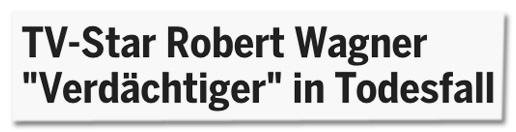 Screenshot heute.at - TV-Star Robert Wagner