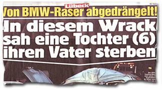"""""""Von BMW-Raser abgedrängelt! In diesem Wrack sah eine Tochter (6) ihren Vater sterben"""""""