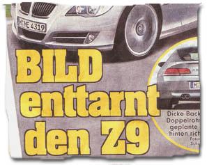 """""""BILD enttarnt Z9"""""""